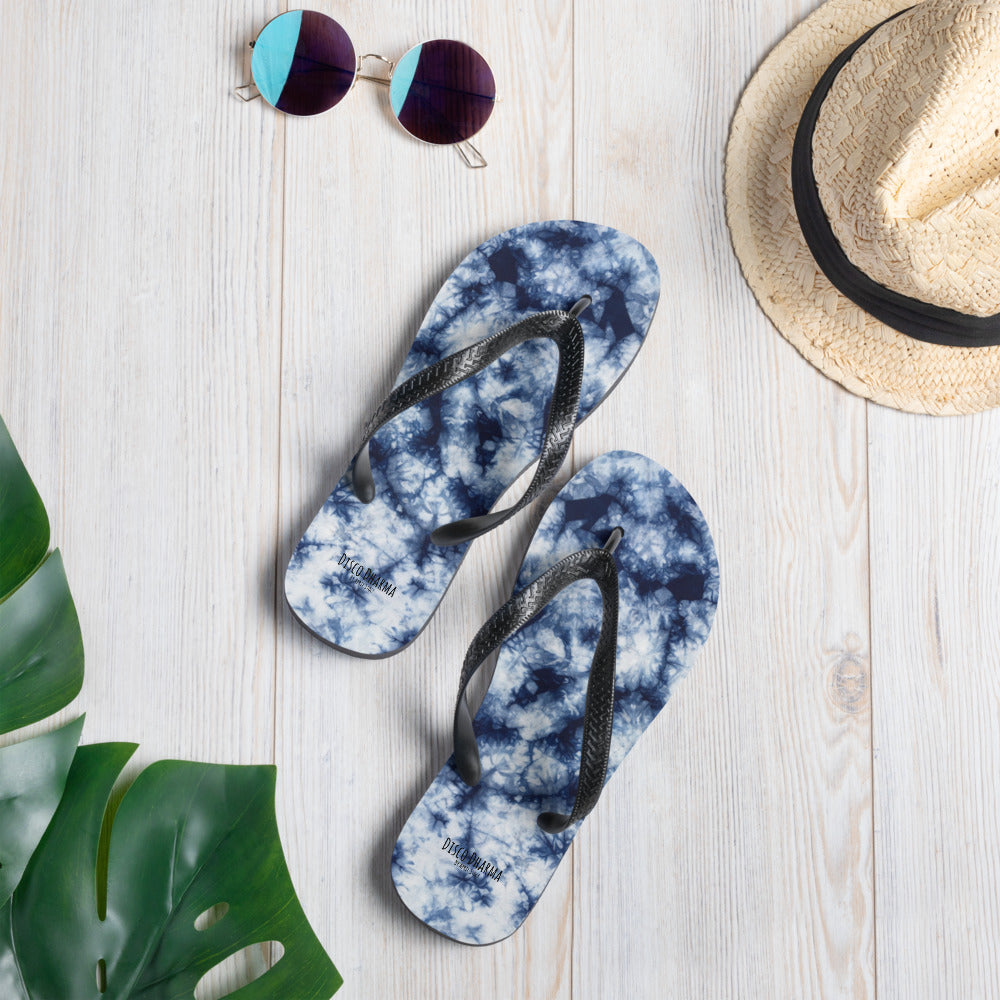 To Dye For Shibori Flip-Flops