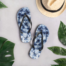 Load image into Gallery viewer, To Dye For Shibori Flip-Flops