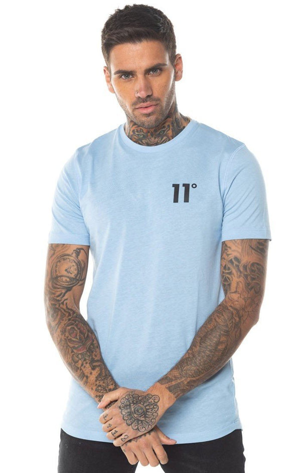 Camiseta 11 Degrees Azul Claro - D10 Store