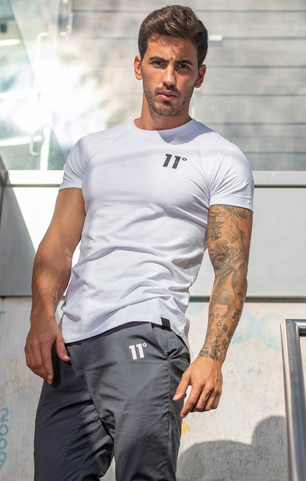 Camiseta 11 Degrees Blanca - D10 STORE