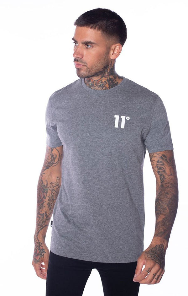 Camiseta 11 Degrees Gris - D10 STORE