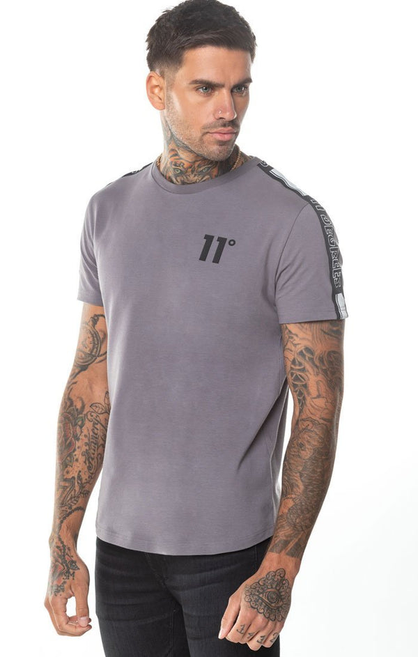 Camiseta 11 Degrees Gris Optum - D10 Store