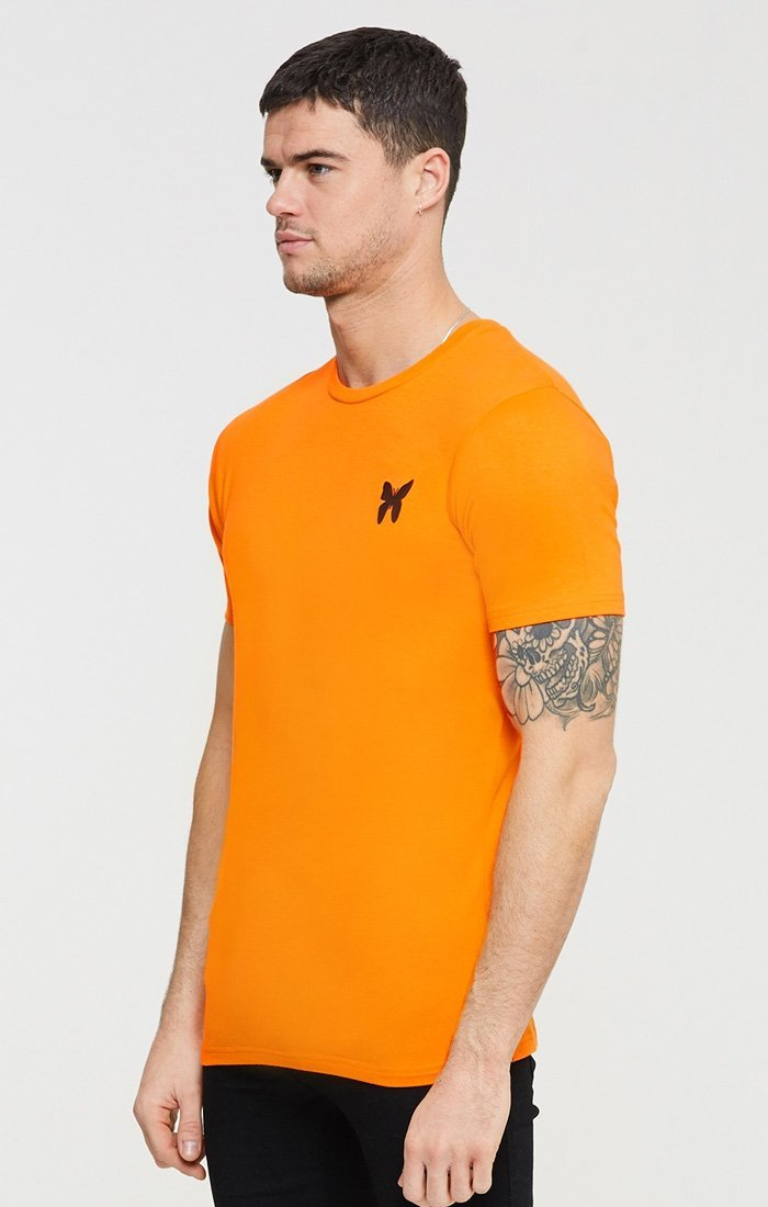 Camiseta Good For Nothing Essential Naranja - D10 Store
