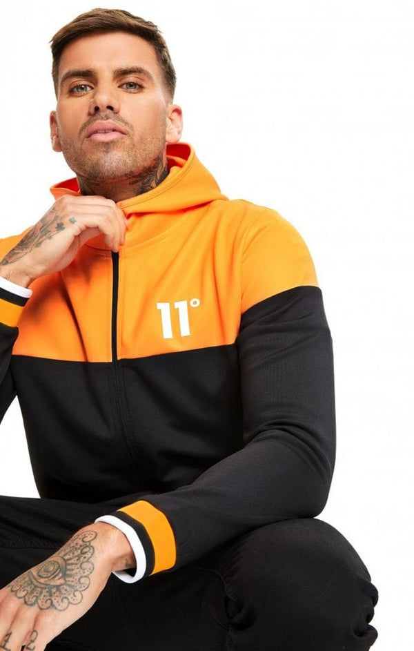 Jersey 11 Degrees Ribbed Naranja - D10 Store