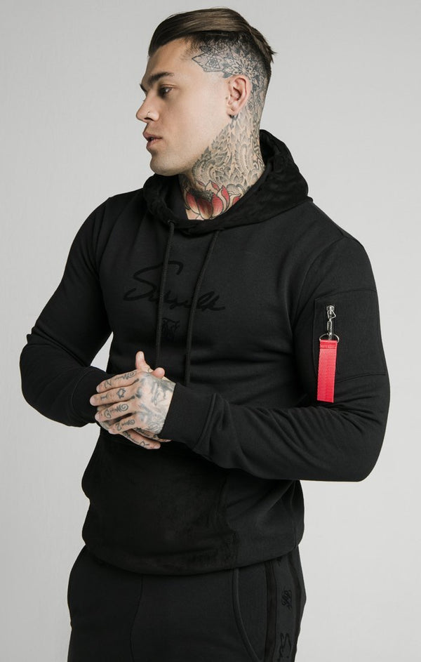 Jersey SikSilk Sueded Negro - D10 STORE