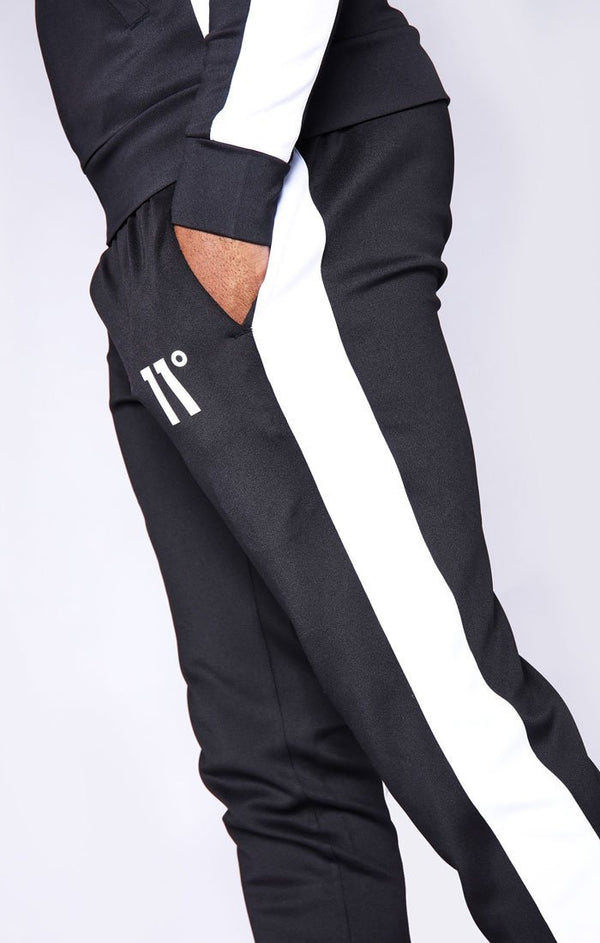 Pantalón 11 Degrees Negro Panel - D10 STORE