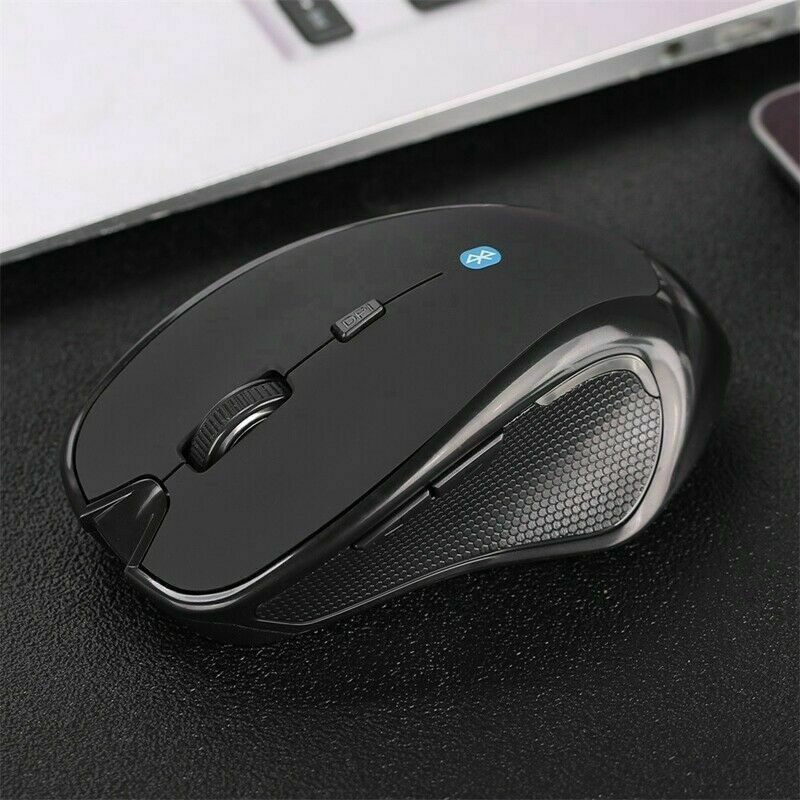 Wireless Bluetooth 3.0 Adjustable 1600 DPI Optical Mouse 6 Buttons Gaming Mice