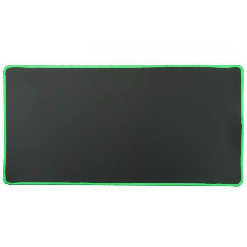 Black 80x30cm Extra Large Size Gaming Mouse Pad Desk Mat Anti-slip Rubber Mouse Pad