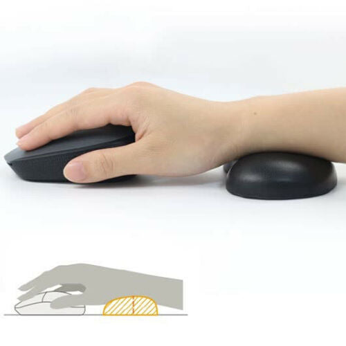 Ergonomic Desktop Computer GEL Soft Mouse Support Cushion Mouse Wrist Rest Pad