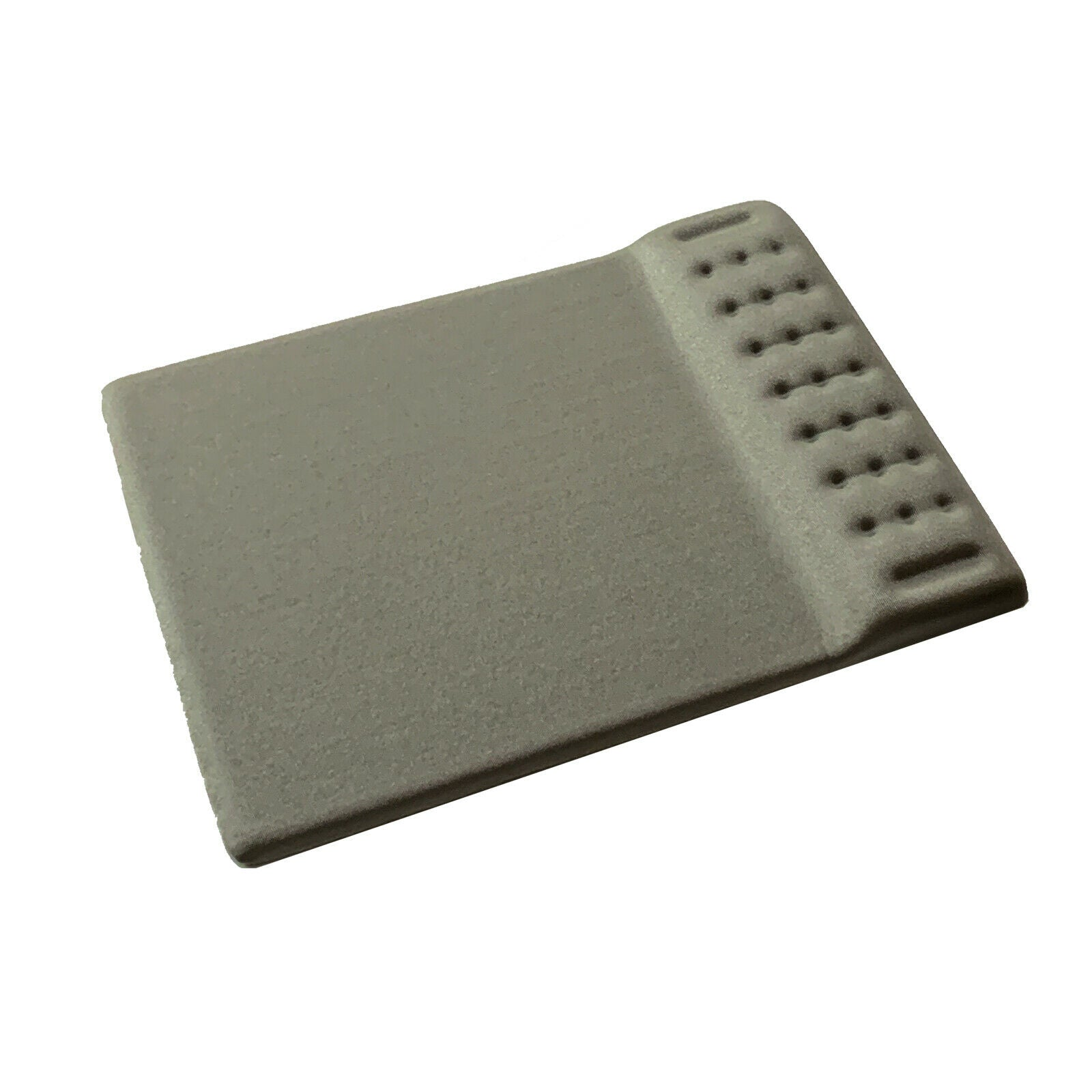 Grey - Ergonomic Non Slip Mouse Pad with Memory Foam Wrist Rest Cushion Support