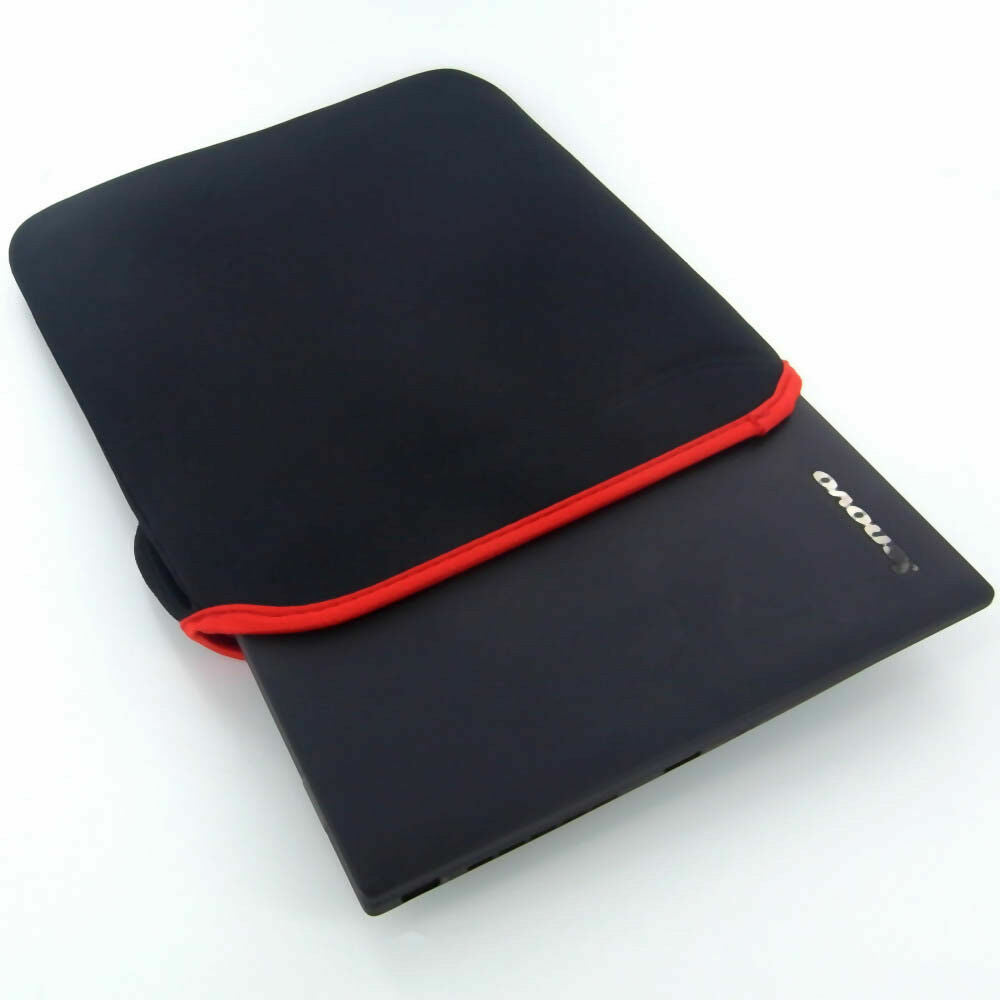 "14"" Black/Red Shockproof Laptop Sleeve Neoprene Bag For Macbook Air/Pro"