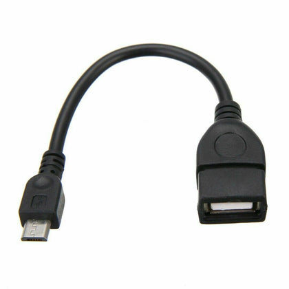 Micro USB 2.0 A Female to B Male Converter OTG Adaptor Cable for Samsung HTC