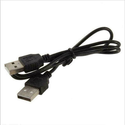 USB 2.0 Type A Male to USB A Male Sycn Data Charger Cable Cord - 100cm