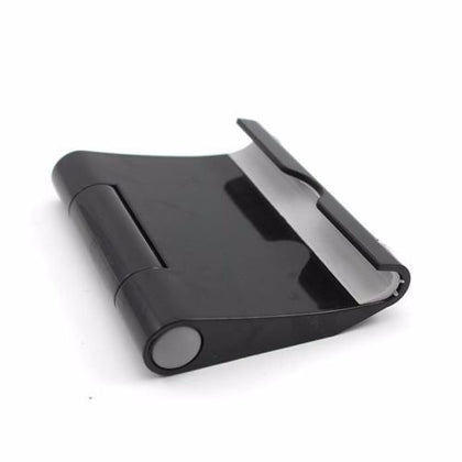 Black - Foldable Desk Stand Holder Desktop For Nexus Galaxy iPhone 6 iPad Air Tablet