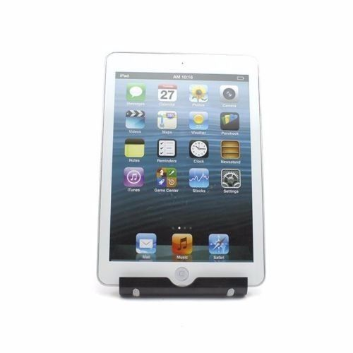 White - Foldable Desk Stand Holder Desktop For Nexus Galaxy iPhone 6 iPad Air Tablet