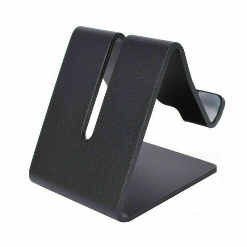 Black Aluminum Alloy Mobile Phone Desktop Stand Holder for iPad iPhone Mobile Phone AU