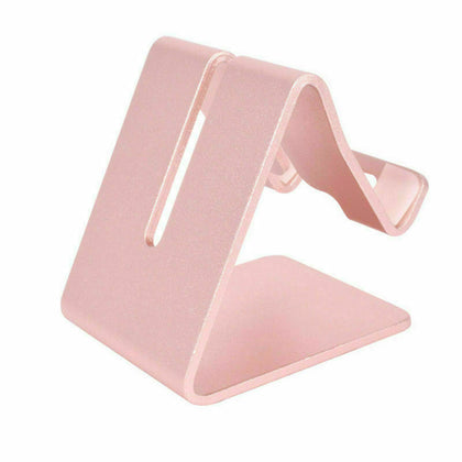 Rose Gold Aluminum Alloy Mobile Phone Desktop Stand Holder for iPad iPhone Mobile Phone AU