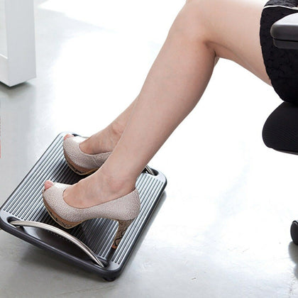 Office Under Desk Foot Rest Ergonomic Footrest - Reduces Muscle Strain Fatigue