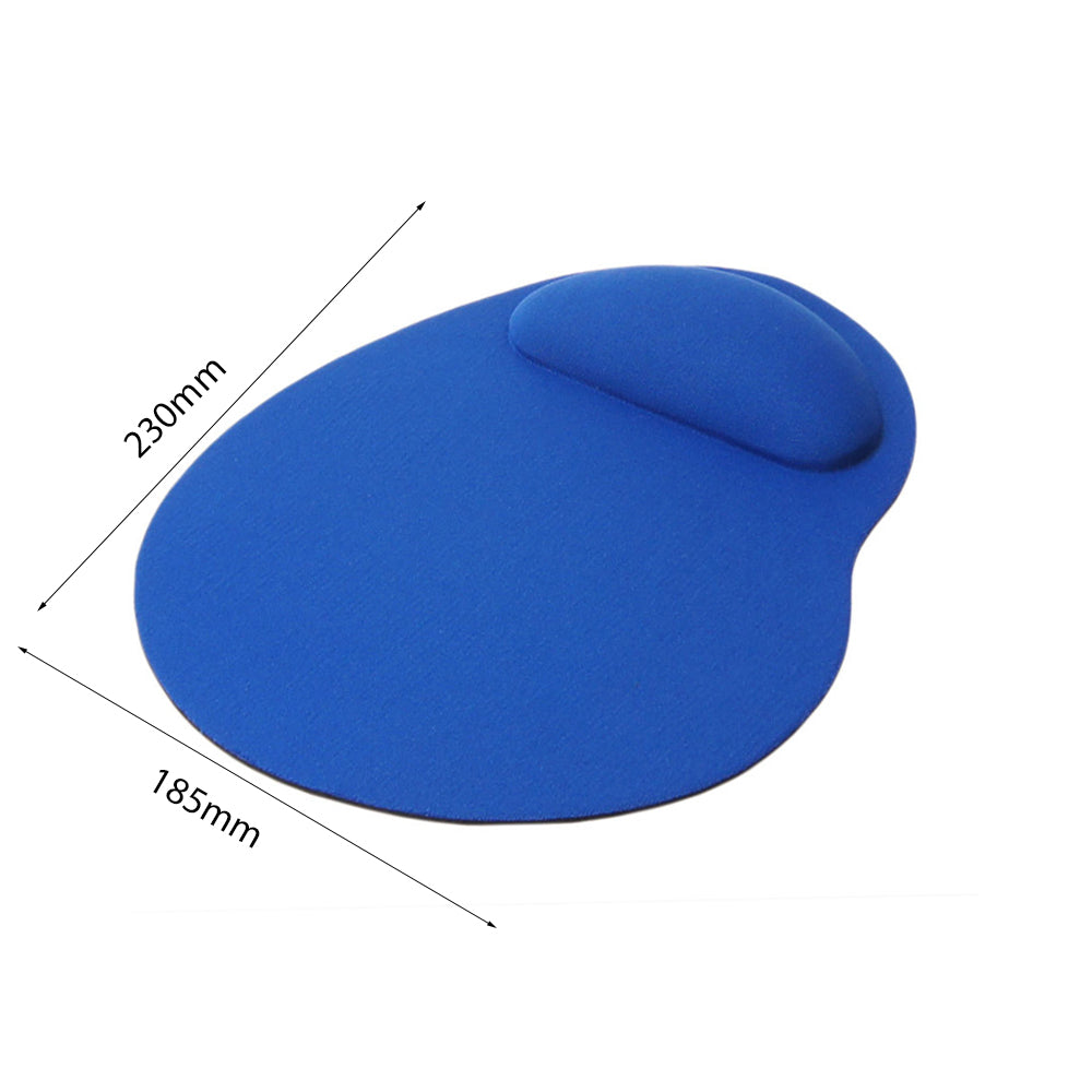Ergonomic Thin Small Mouse Mice Mat Pad With Wrist Rest Support Laptop Computer