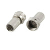 F-Type F Twist-On Coaxial RG6 Cable Connector Plug Aerial Sky Freeset SATELLITE