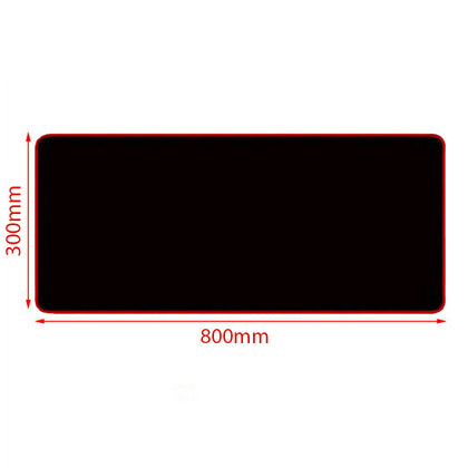 Blue 80x30cm Extra Large Size Gaming Mouse Pad Desk Mat Anti-slip Rubber Mouse Pad