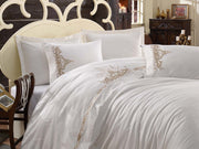 Dantela Olivia - Embroidered Luxury Duvet Cover Set - creativehome-designs