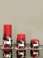 Deer Candle Set - creativehome-designs