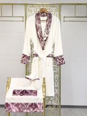 Deren Pink Bathrobe (Her) - creativehome-designs
