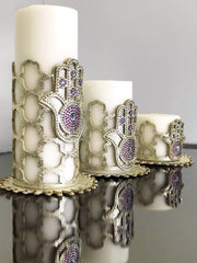 Hamsa Candle Set - creativehome-designs