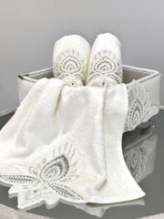 Lotus Towel Box Set - creativehome-designs
