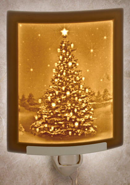 The Porcelain Garden - Christmas Tree Nightlight