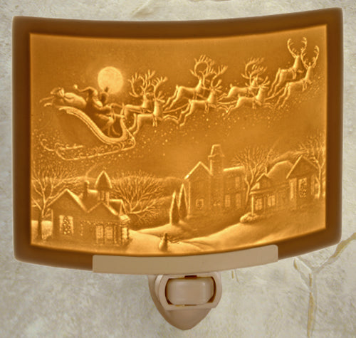 The Porcelain Garden - Santa's First Flight Nightlight