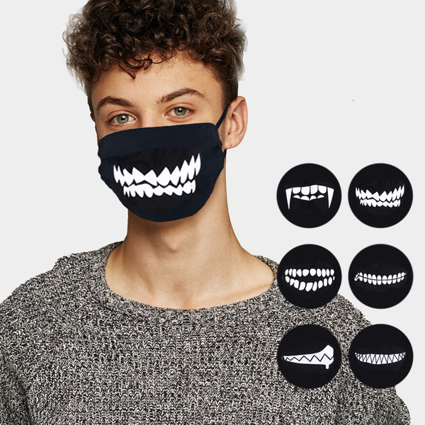 Assorted Teeth Face Masks