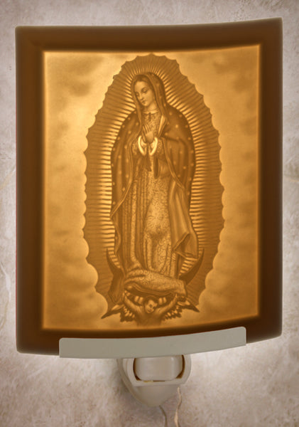 The Porcelain Garden - Our Lady of Guadalupe Nightlight