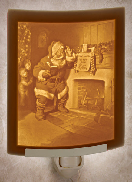 The Porcelain Garden - Santa's Surprise Nightlight