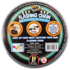DIY Flashing Chain