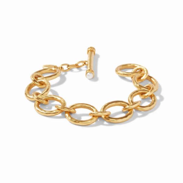 Julie Vos Catalina Gold Small Link Bracelet