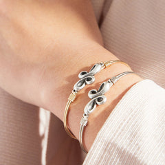 Luca + Danni - Eternal Cross Bangle Bracelet