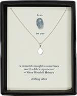 b.u. - A Moment's Insight Necklace