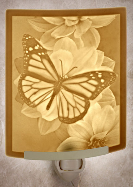 The Porcelain Garden - Butterfly Nightlight