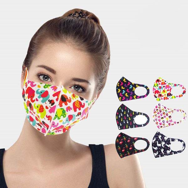Animal Print Face Masks