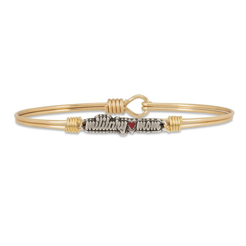 Luca + Danni - Military Mom Bangle Bracelet