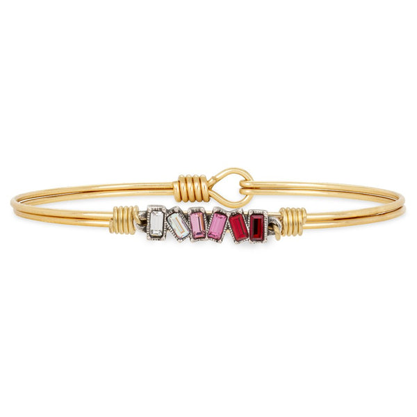 Luca + Danni  - Mini Hudson Bangle Bracelet in Love Ombre