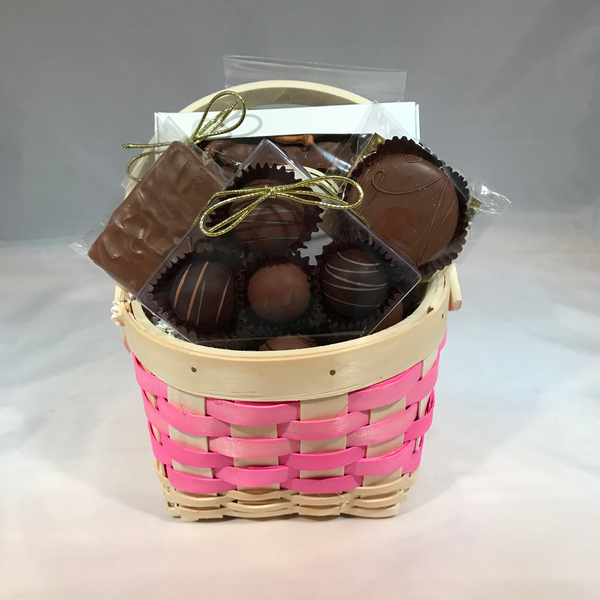 Small Chocolate Basket