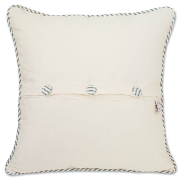 Martha's Vineyard Embroidered Pillow