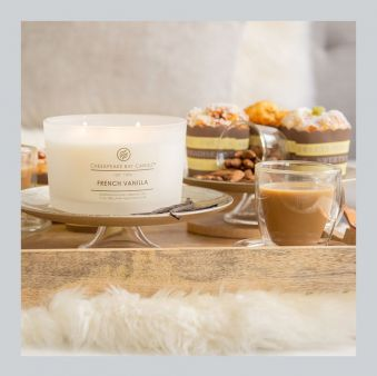 Chesapeake Bay Candle French Vanilla 17 oz