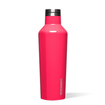 Corkcicle 16oz Canteen Flamingo