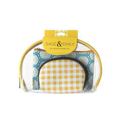 Sage & Emily 3 Piece Cosmetic Case
