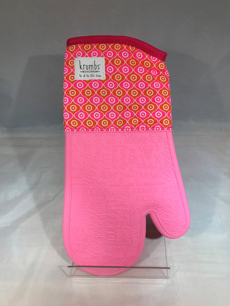 Bright and Colorful Silicone Oven Mitts
