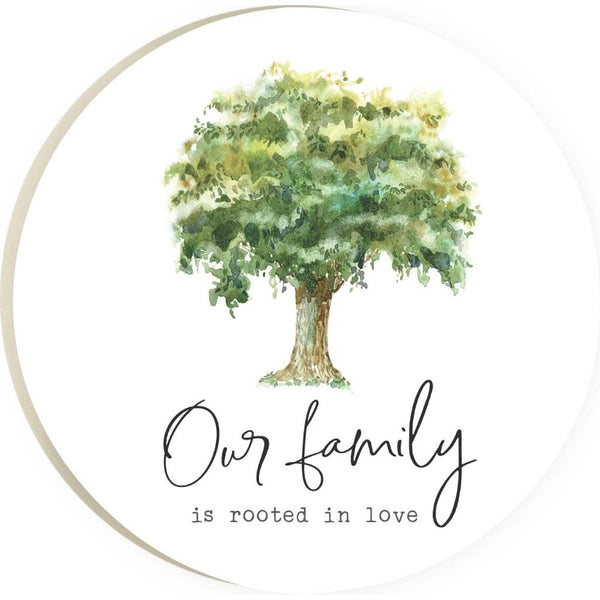 Our Family Is Rooted in Love Coaster